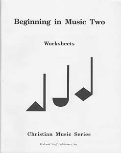 Grade 2: Beginning in Music Two Workbook-Teacher's Guide Inside