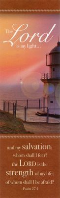 Bookmark - Lighthouse (Psalm 27:1)