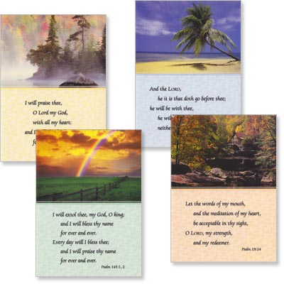 Blank Cards - Quiet Retreat - Set of 4