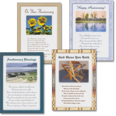 Anniversary Cards - Love's Loyalty - Set of 4