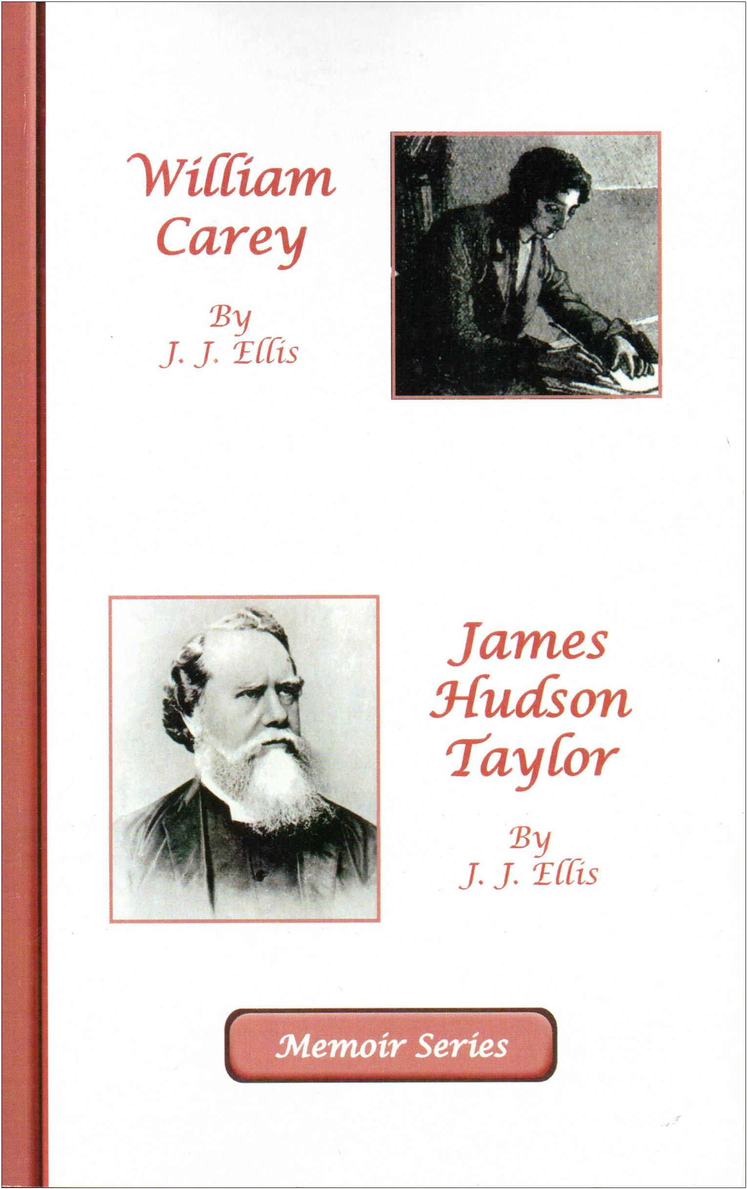 Memoir Series: William Carey & Hudson Taylor NEW!! - ONLY 2 LEFT
