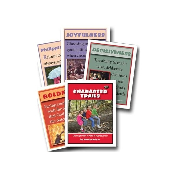 Ages 6-9: Character Trails Flashcards NEW!!!