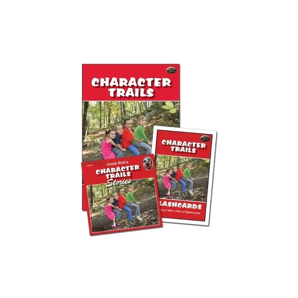 Ages 6-9: Character Trails Curriculum Set NEW!!!