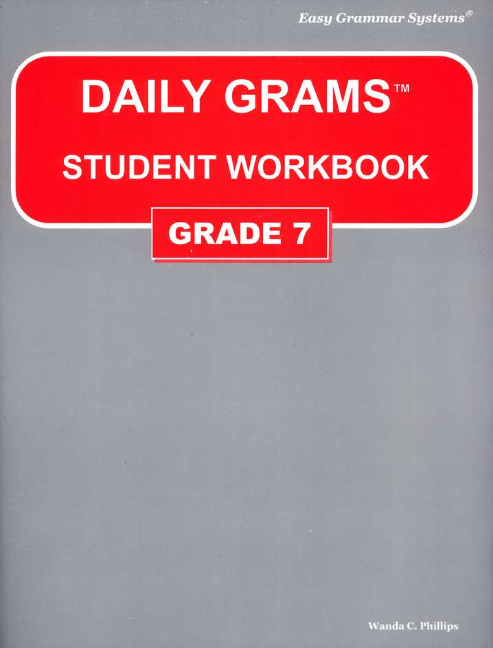 Grade 7 Daily Grams: Student Workbook