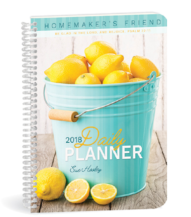 Daily Planner 2018 NEW!!! - Only one left!