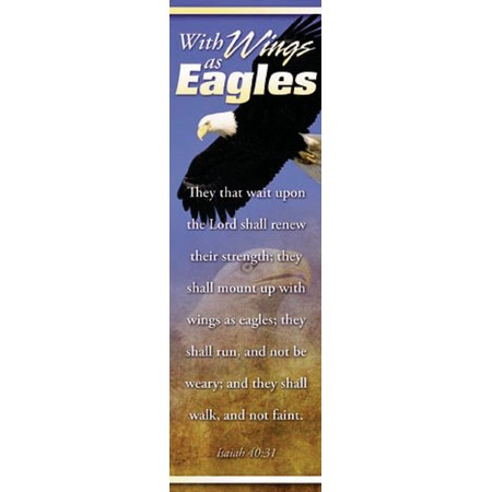 Bookmark - Wings as Eagles (Isaiah 40:31)