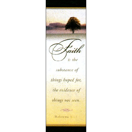 Bookmark - Faith (Hebrews 11:1)