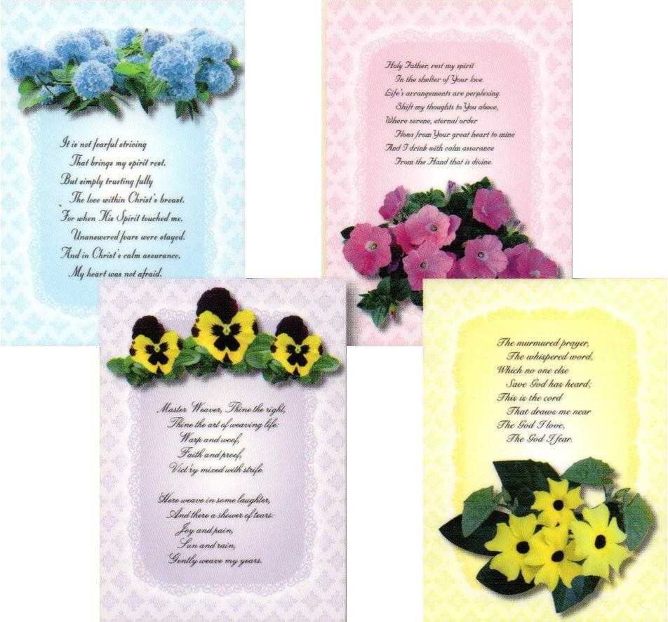 Get Well Cards - Floral Sunshine