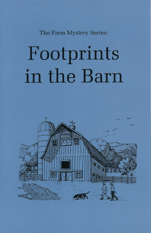 Farm Mystery Series: 01.Footprints in the Barn