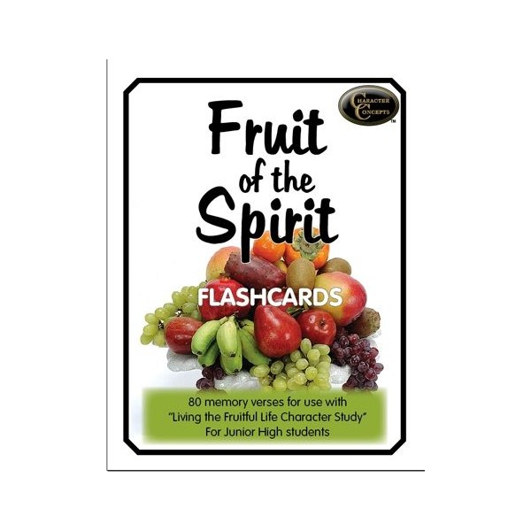 Ages 11-15: Fruit of the Spirit Flashcards NEW!!!