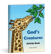 God's Creatures Activity Book NEW!!!