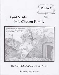 Grade 7 Bible: God Visits His Chosen Family TEST BOOKLET NEW - Click Image to Close
