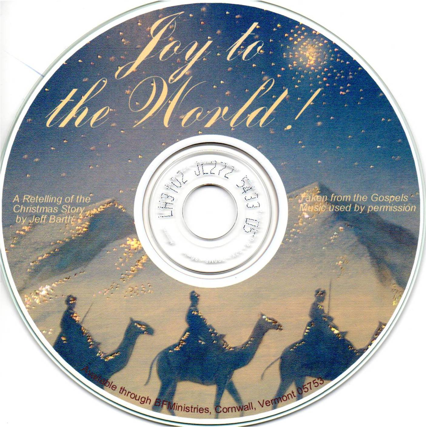 CD - Joy to the World
