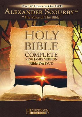 KJV Bible on DVD - Narrated by Alexander Scourby
