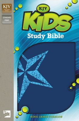 KJV Kids Study Bible - Galaxy Blue