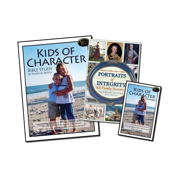 Ages 7-10: Kids of Character Curriculum Set NEW!!!
