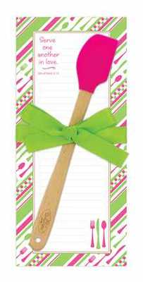 Kitchen Magnetic Pad & Spatula Gift Set with Scripture NEW!!! - Click Image to Close