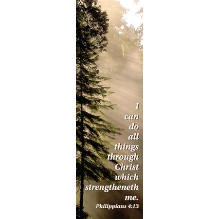 Bookmark - I Can Do All Things (Philippians 4:13)