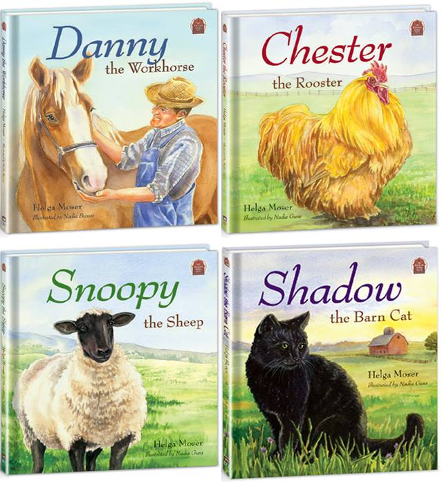 Pleasant Valley Farm Whole Set (4 Books)