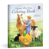 Pleasant Valley Farm Coloring Book NEW!!!