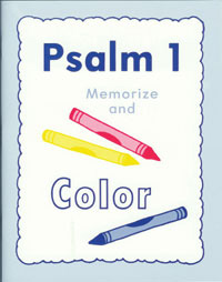 Psalm 1 Colouring Book