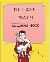 Psalm 23 Coloring Book