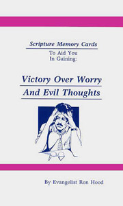 Victory Over Worry & Evil Thoughts Verse Pack