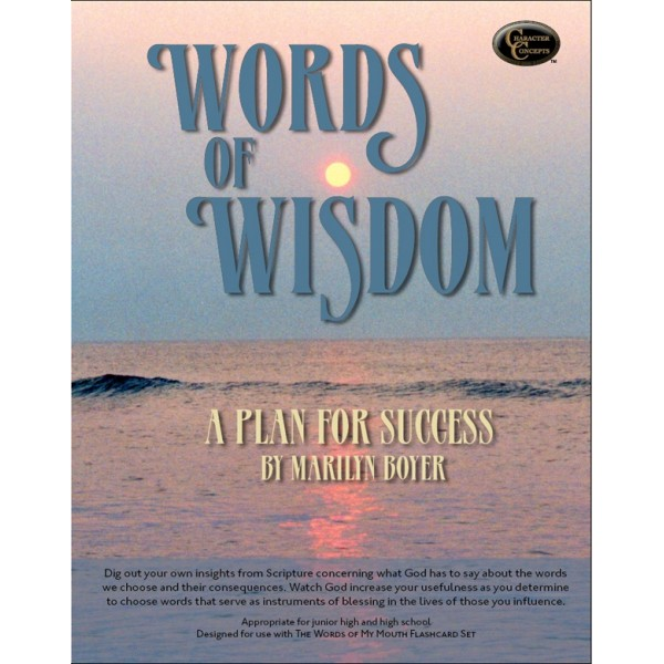 Ages 14-17: Words of Wisdom Study Book NEW!!!