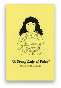 Proverbs 31 Colouring Book - Young Lady of Valor