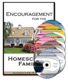 Encouragement for the Homeschool Family [CD Album]