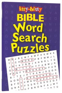 itty-bitty Bible word Search Puzzles NEW!!!