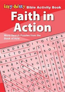 itty-bitty Faith in Action Word Search Puzzles NEW!!!