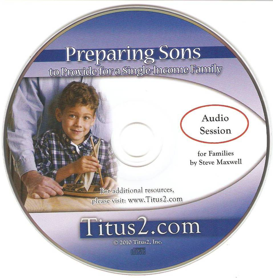 Preparing Sons Workshop CD